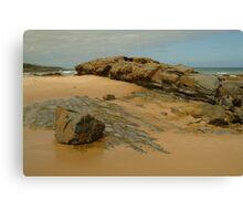 Foreshore Skenes Creek,Great Ocean Rd Canvas Print