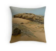 Foreshore Skenes Creek,Great Ocean Rd Throw Pillow