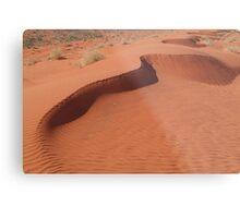 Sandhill,Madigan Line Simpson Desert Metal Print