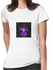 The Wizard - Orchid Alien Discovery Womens Fitted T-Shirt