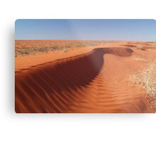 Madigan Line Sand Hill Simpson Desert  Metal Print