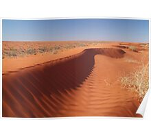 Madigan Line Sand Hill Simpson Desert  Poster