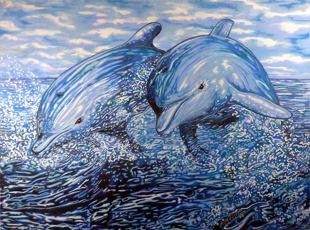 Dolphins by Anthony Middleton