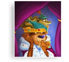 Prince John & Sir Hiss Canvas Print