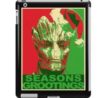 Seasons Grootings iPad Case/Skin