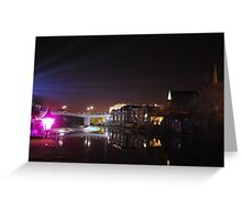Durham City Lumiere Greeting Card