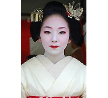 Butterfly Maiko Photographic Print