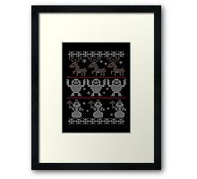 Bumbles Bounce Framed Print