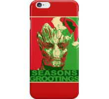 Seasons Grootings iPhone Case/Skin