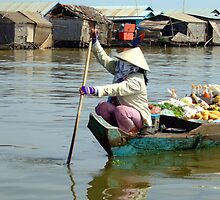 Shopping in the Mekong by AlexOZ