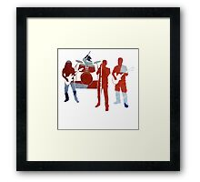 British Bands Framed Print