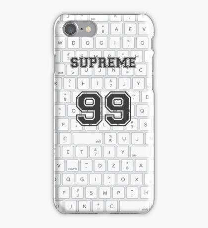 Supreme Words iPhone Case/Skin