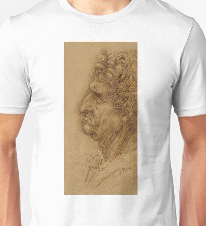 Oil painting inspired by Leonardo Da Vinci Unisex T-Shirt