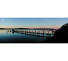 After sunset, Mallacoota Photographic Print