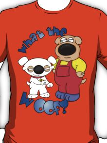 Stewie and Brian with a Twist  T-Shirt