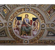 Ceiling Mosaic, Vatican City Photographic Print