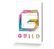 GUILD : The Hoodie Greeting Card