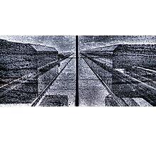 Symmetric Rain Photographic Print