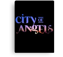 """Los Angeles: """"City of Angels"""" Canvas Print"""