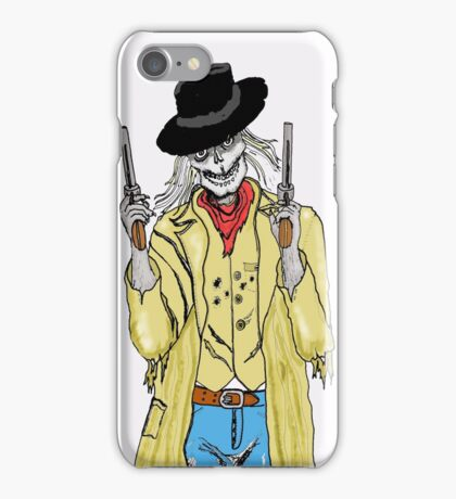 The gunslinger iPhone Case/Skin