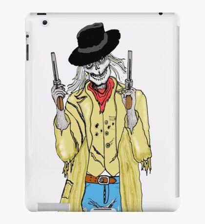 The gunslinger iPad Case/Skin
