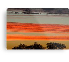 Red Sunrise,Batton Hill, North Simpson Desert Metal Print