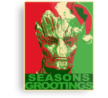 Seasons Grootings Metal Print