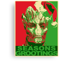 Seasons Grootings Canvas Print