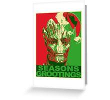 Seasons Grootings Greeting Card