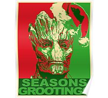 Seasons Grootings Poster