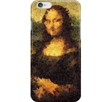Low-Poly Mona Lisa iPhone Case/Skin