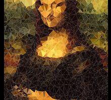 Low-Poly Mona Lisa by John-Michael Baldy