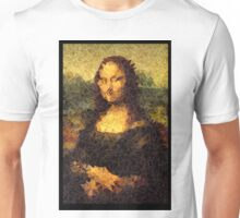 Low-Poly Mona Lisa Unisex T-Shirt