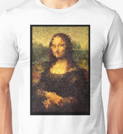 Low-Poly Mona Lisa Unisex T-Shirt