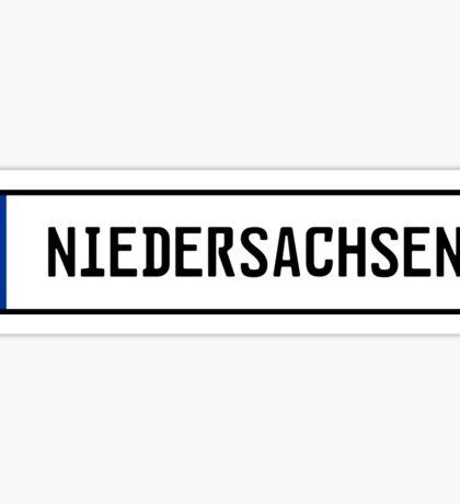 Niedersachsen Kennzeichen Sticker