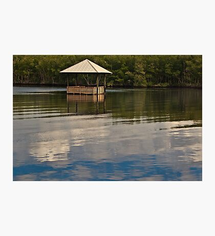 Restful Stop on the River  Photographic Print