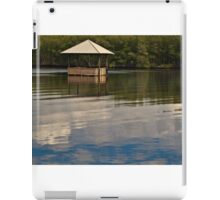 Restful Stop on the River  iPad Case/Skin