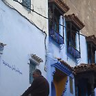 Chechaouen Man by Sarah Mackie