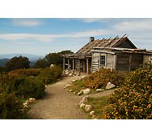 Craig's Hut Photographic Print