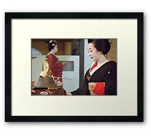 Tea Ceremony Framed Print