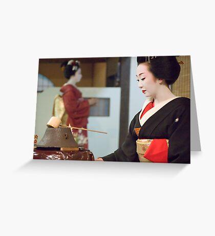 Tea Ceremony Greeting Card