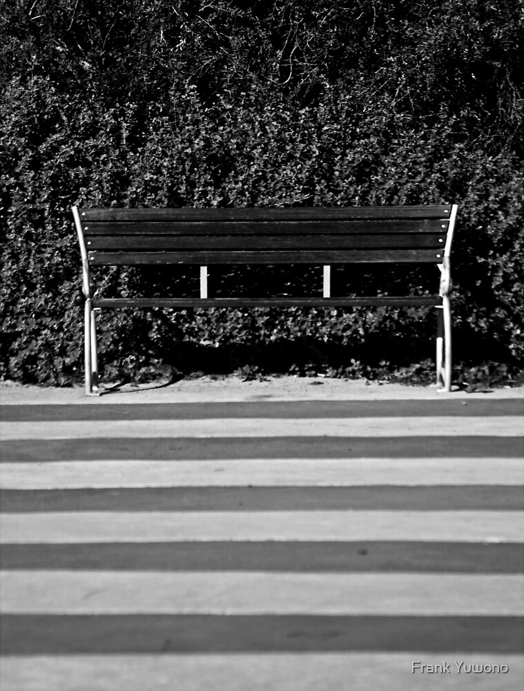 The Empty Bench by Frank Yuwono