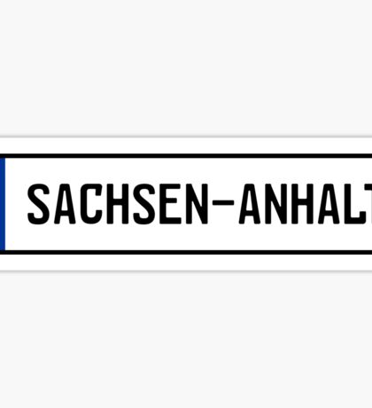 Sachsen-Anhalt Kennzeichen Sticker