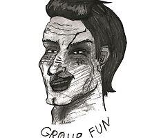 Group Fun by Carine Koumriqian