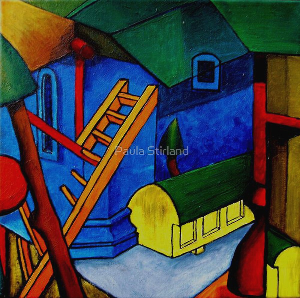Abstract Cubism by Paula Stirland