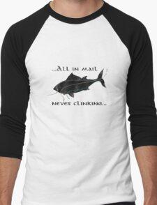 Riddles In The Dark (Fish) - The Hobbit Men's Baseball ¾ T-Shirt