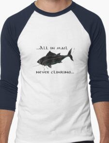 Riddles In The Dark (Fish) - The Hobbit Men's Baseball ¾ T-Shirt