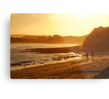 Strolling Torquay Surf Beach,Great Ocean Road Metal Print