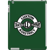 Luxton & District Traction Company Logo (On The Buses) iPad Case/Skin