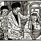 Hospital Pastor at Berega by Jean  Burke